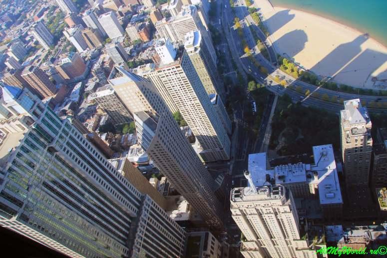 США, город Чикаго: достопримечательности и фото - Центр Джона Хэнкока (John Hancock Center)