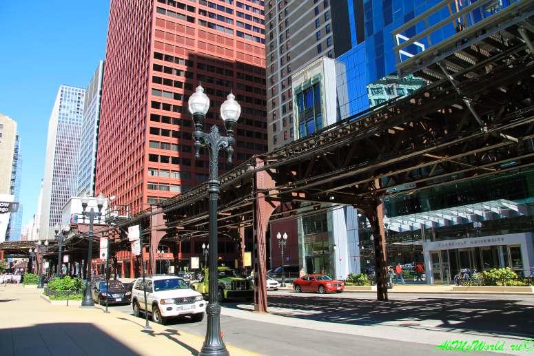 США, город Чикаго: достопримечательности и фото - чикагское метро