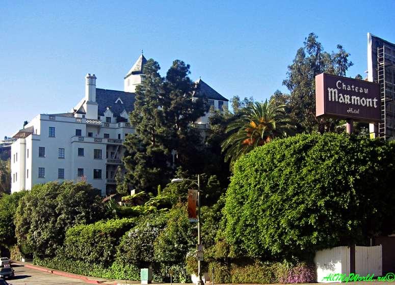 США, город Лос-Анджелес - достопримечательности, впечатления, фото - бульвар Сансет