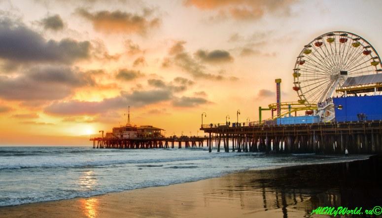США, город Лос-Анджелес - достопримечательности, впечатления, фото - Санта-Моника, пирс