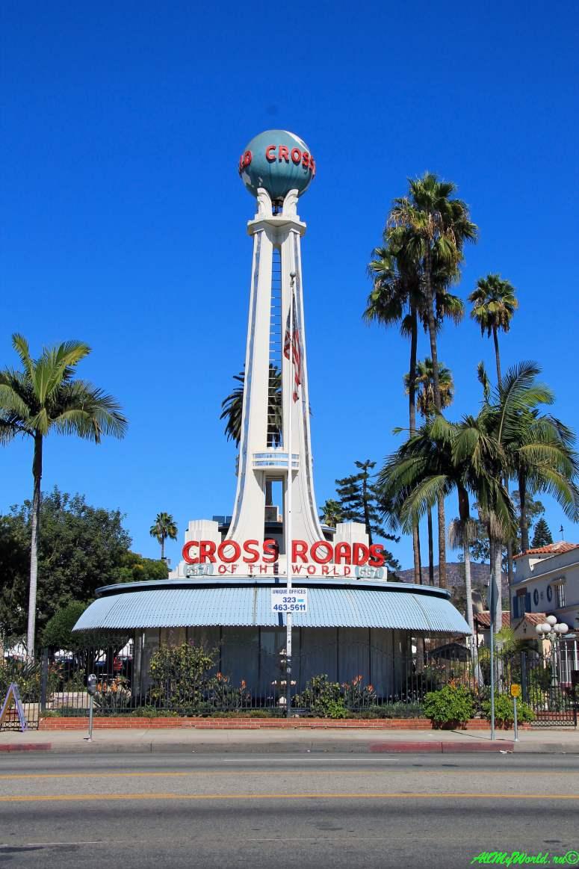 США, город Лос-Анджелес - достопримечательности, впечатления, фото - бульвар Голливуд Перекресток мира