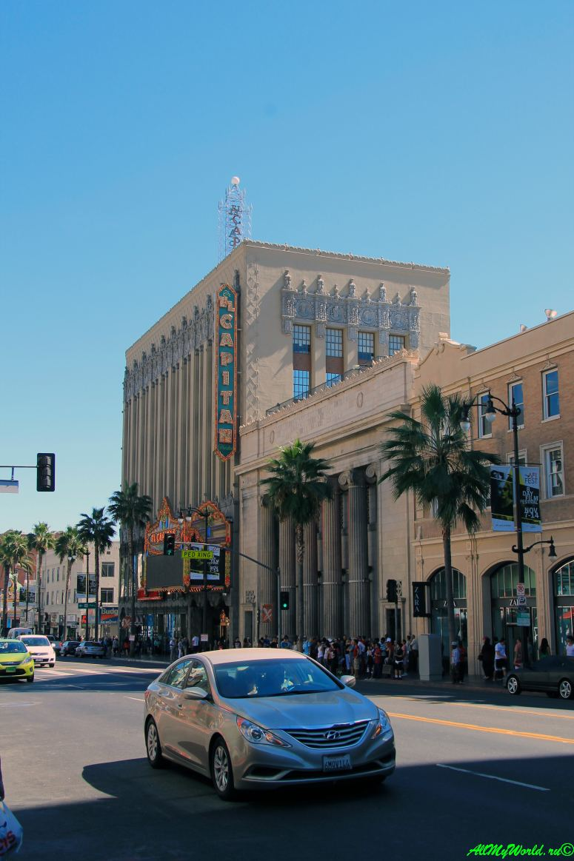США, город Лос-Анджелес - достопримечательности, впечатления, фото - бульвар Голливуд Эль-Капитан