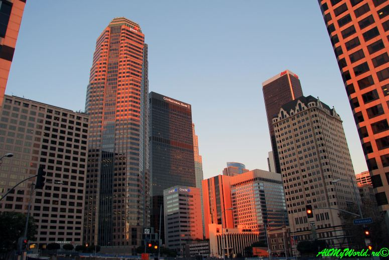 США, город Лос-Анджелес - достопримечательности, впечатления, фото - даунтаун