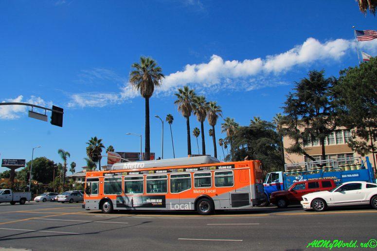США, город Лос-Анджелес - достопримечательности, впечатления, фото - транспорт Лос-Анджелеса