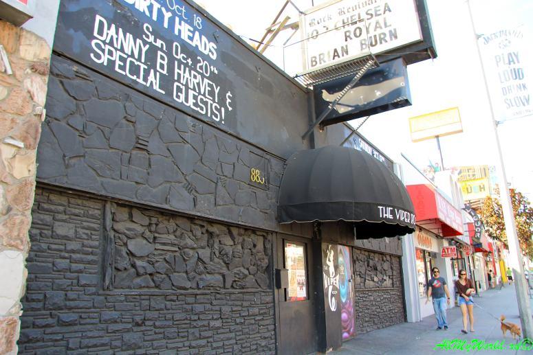 США, город Лос-Анджелес - достопримечательности, впечатления, фото - бульвар Сансет, Viper Room