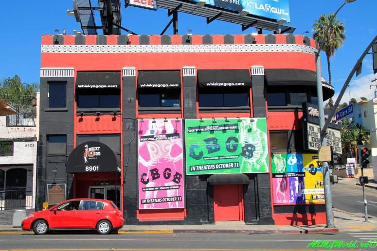 США, город Лос-Анджелес - достопримечательности, впечатления, фото - бульвар Сансет, Whisky A-Go-Go