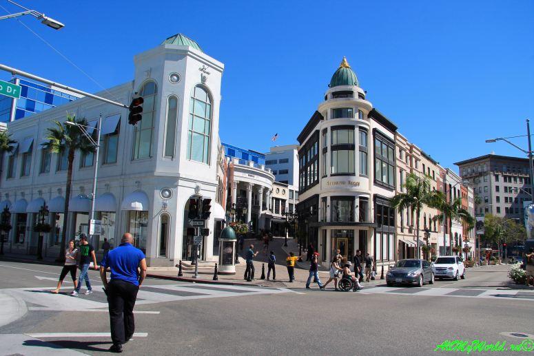 США, город Лос-Анджелес - достопримечательности, впечатления, фото - Родео-драйв