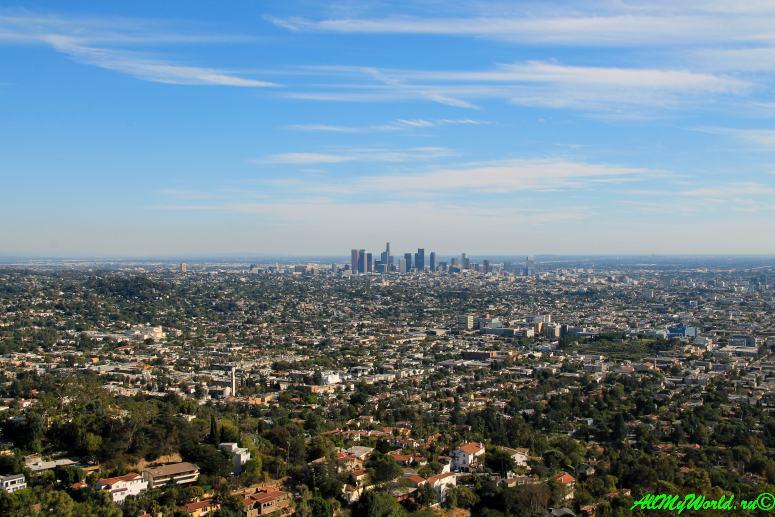 США, город Лос-Анджелес - достопримечательности, впечатления, фото - обсерватория Гриффит