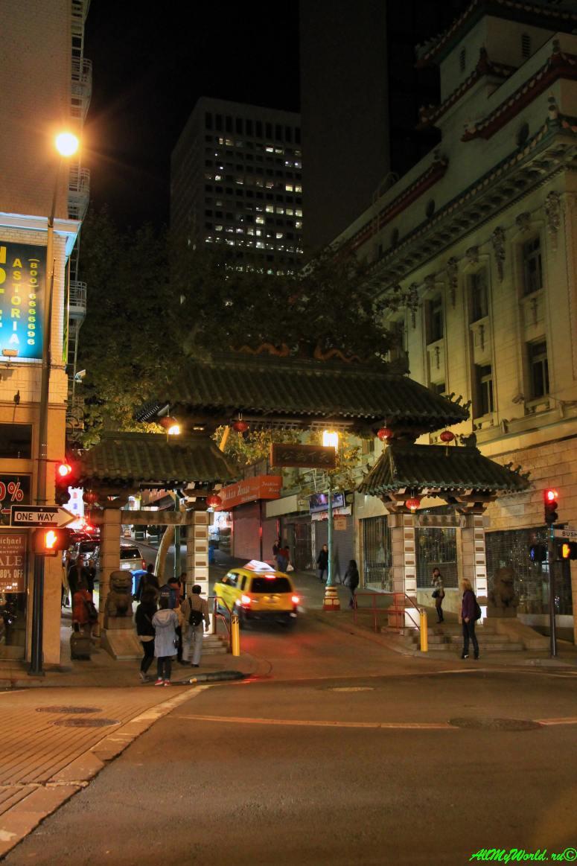 США, город Сан-Франциско - достопримечательности и фото - Чайна-таун