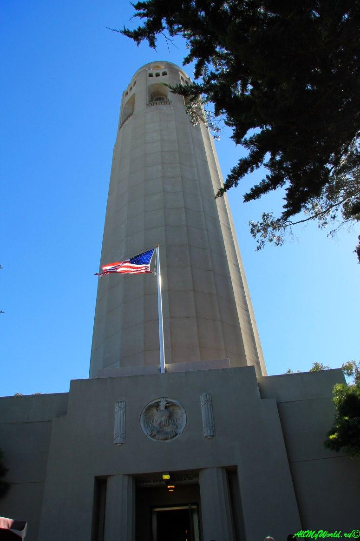 США, город Сан-Франциско - достопримечательности и фото - Телеграфный холм и Койт-тауэр