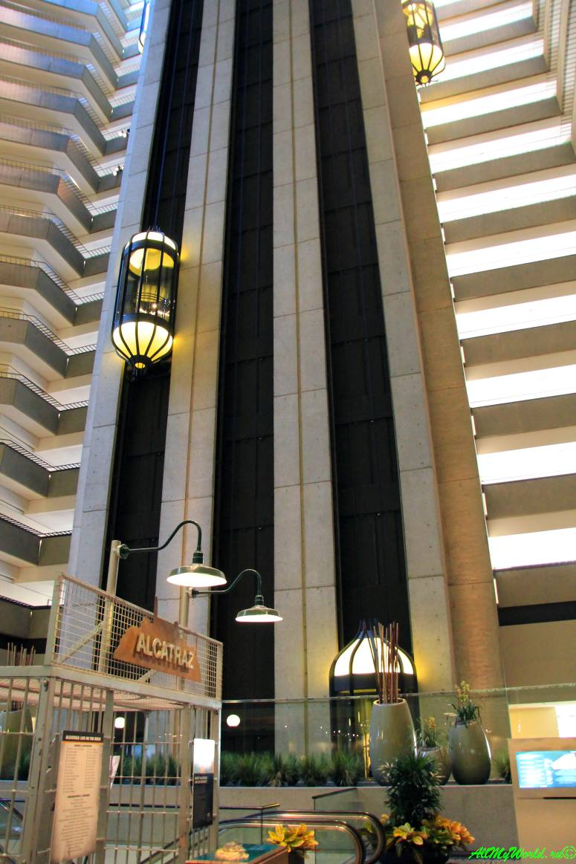 США, город Сан-Франциско - достопримечательности и фото - отель Hyatt Regency
