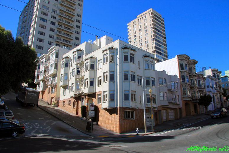 США, город Сан-Франциско - достопримечательности и фото - Русские Холмы Russian Hills