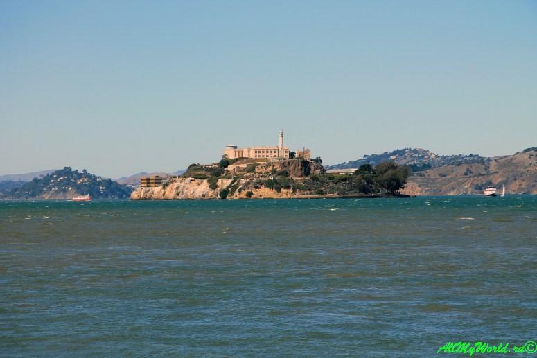 США, город Сан-Франциско - достопримечательности и фото - остров Алькатрас (Alcatraz)
