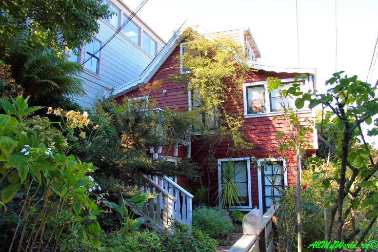 США, город Сан-Франциско - достопримечательности и фото - Филберт-стрит (Filbert street)