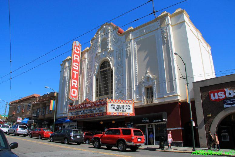 США, город Сан-Франциско - достопримечательности и фото - район Кастро (Castro)