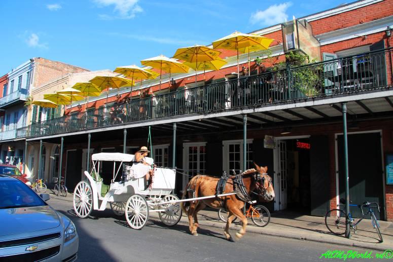 США, город Новый Орлеан - Французский рынок фото