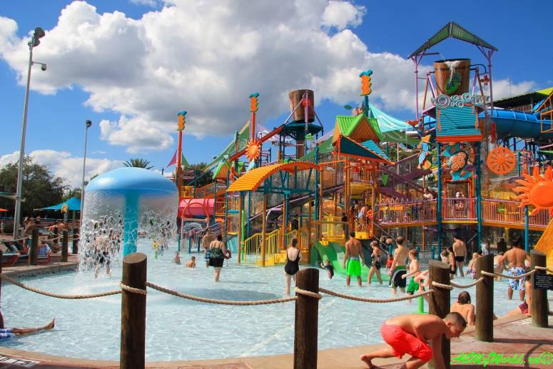 США, Орландо: аквапарк Aquatica