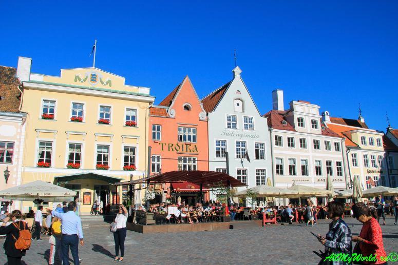 Ратушная площадь Таллина
