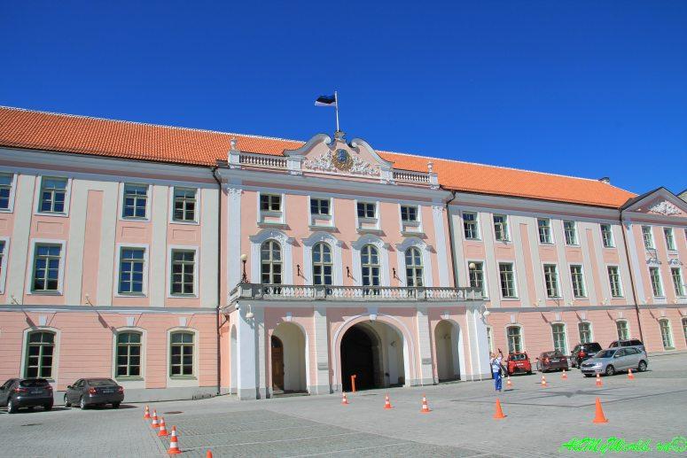 Старый Таллин: замок Тоомпеа