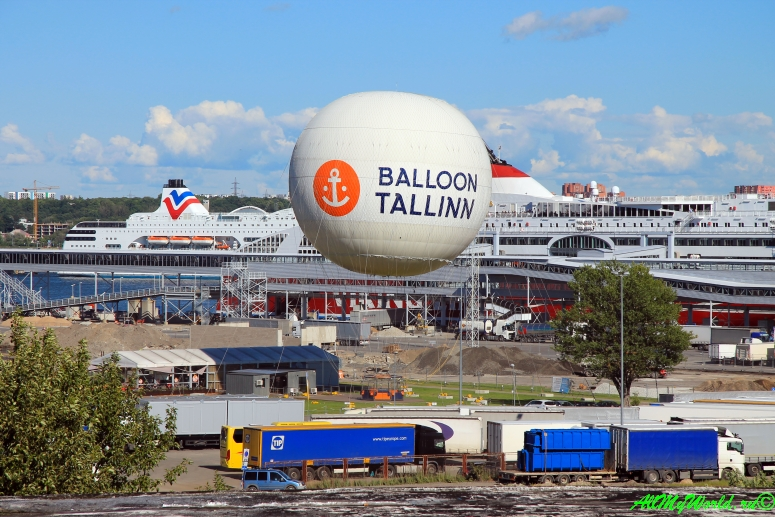 Эстония, Таллин: полет над городом на воздушном шаре Balloon Tallinn