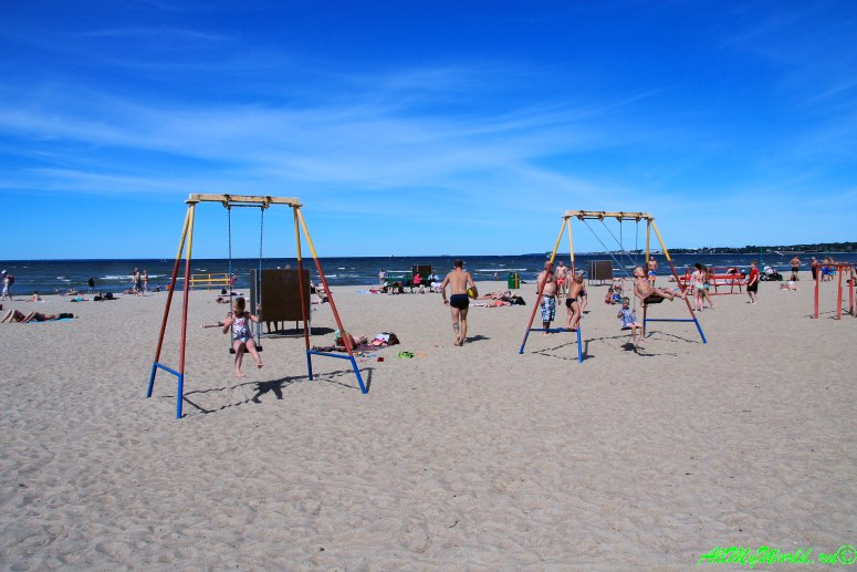 Большой Таллин: пляж Пирита