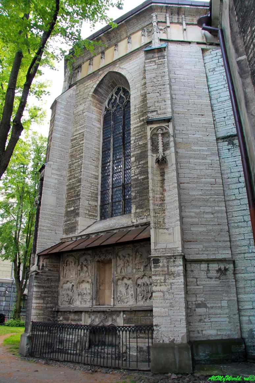 Старый Таллин: церковь Святого Олафа - Олевисте