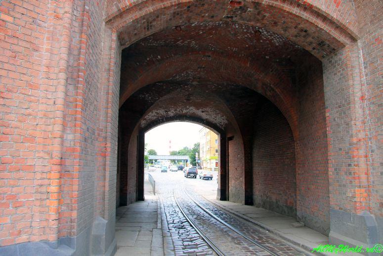 Достопримечательности Калининграда Бранденбургские ворота