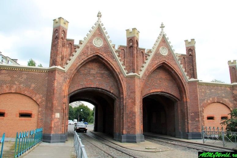 Достопримечательности Калининграда - Бранденбургские ворота