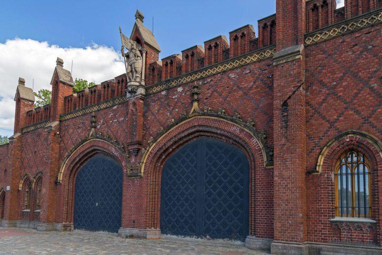 Достопримечательности Калининграда - Фридландские ворота