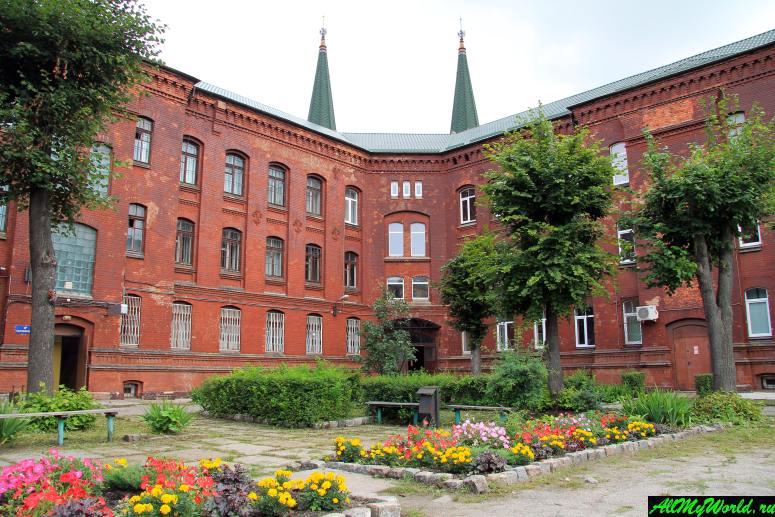Достопримечательности Калининграда - Госпиталь Святого Георга