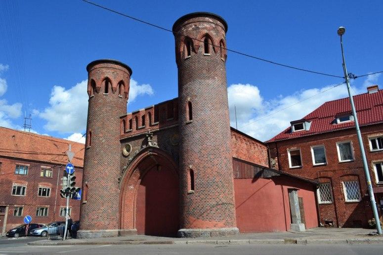 Достопримечательности Калининграда - Закхаймские ворота