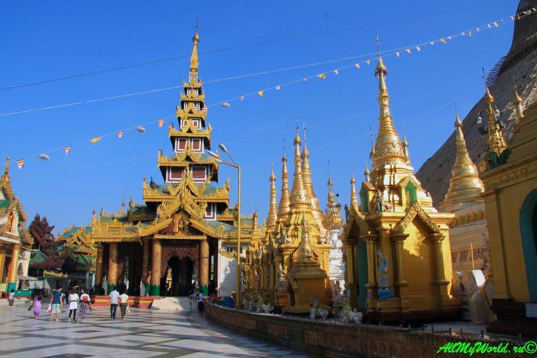Город Янгон: достопримечательности столицы Мьянмы Шведагон фото