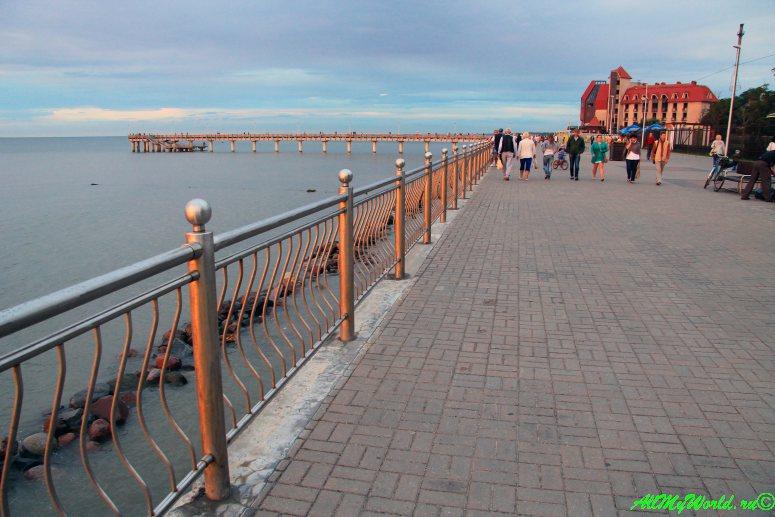 Калининградская область: 11 достопримечательностей города Зеленоградск - променад