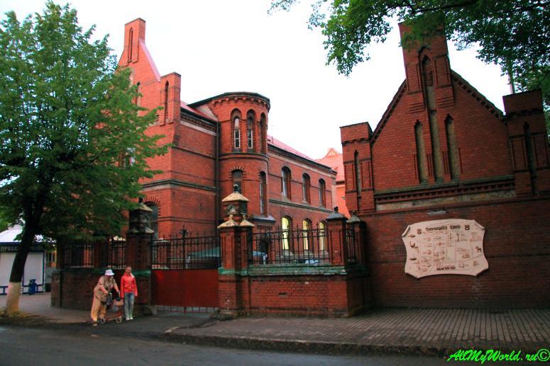 Калининградская область: 11 достопримечательностей города Зеленоградск здание Почтамта