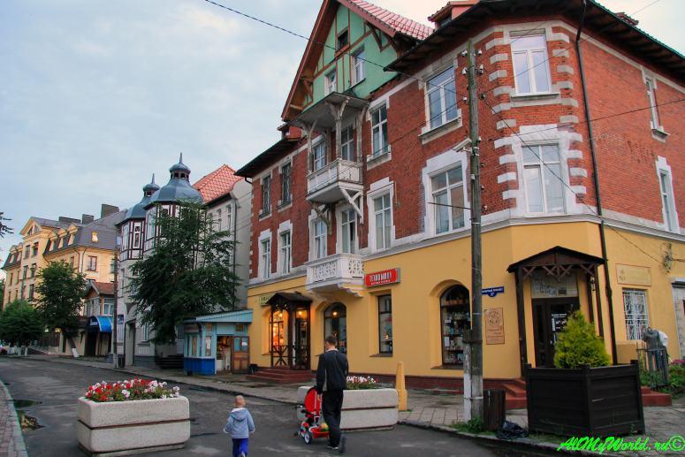 Калининградская область: 11 достопримечательностей города Зеленоградск - Курортный проспект