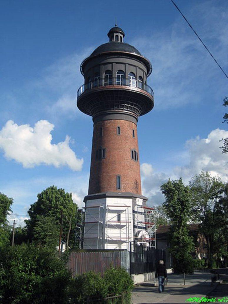 Калининградская область: 11 достопримечательностей города Зеленоградск - Водонапорная башня