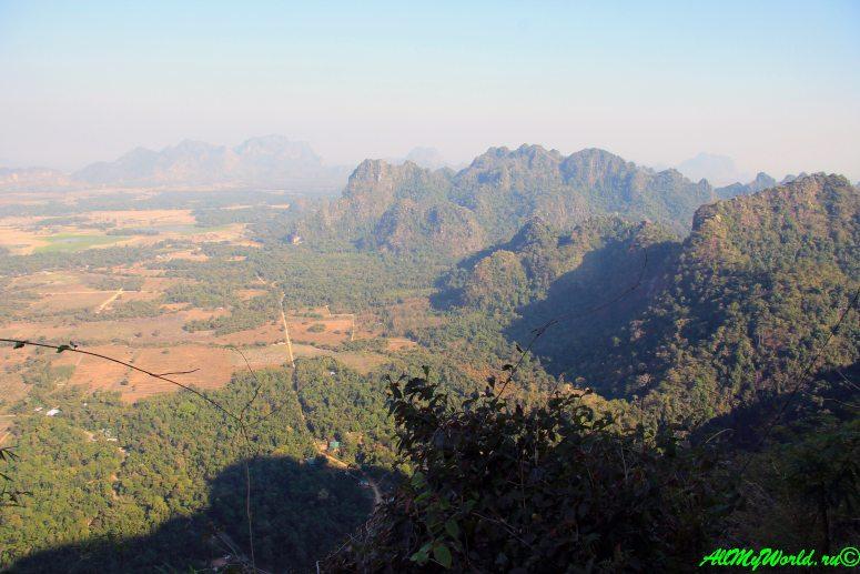 Восточная Мьянма: Моламьян, пещера Садан, гора Звегабин и пагода Кьяук-Калап