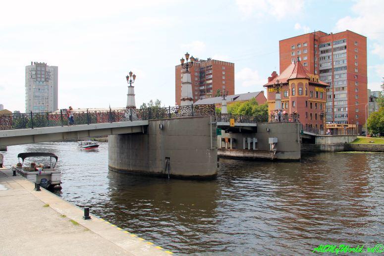 Рыбная деревня Калининграда - Юбилейный мост