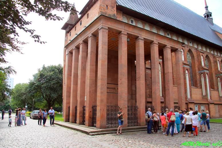 Старый Калининград: Остров Канта и Кафедральный собор - могила Канта