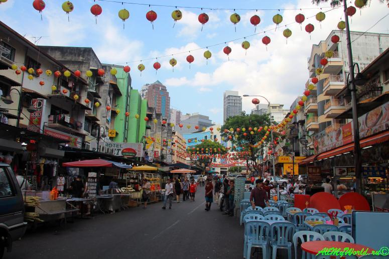 Малайзия: достопримечательности Куала-Лумпура Китайский квартал