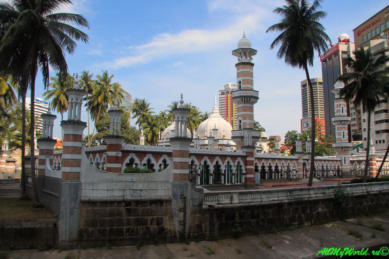 Малайзия: достопримечательности Куала-Лумпура дворец Абдул Самада