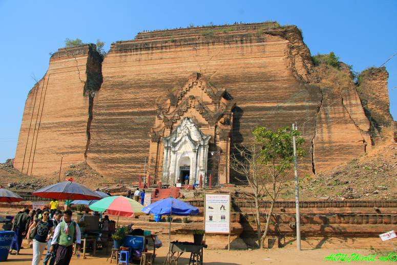 Окрестности Мандалая: Мингун пагода Патододжи (Патходауджи)