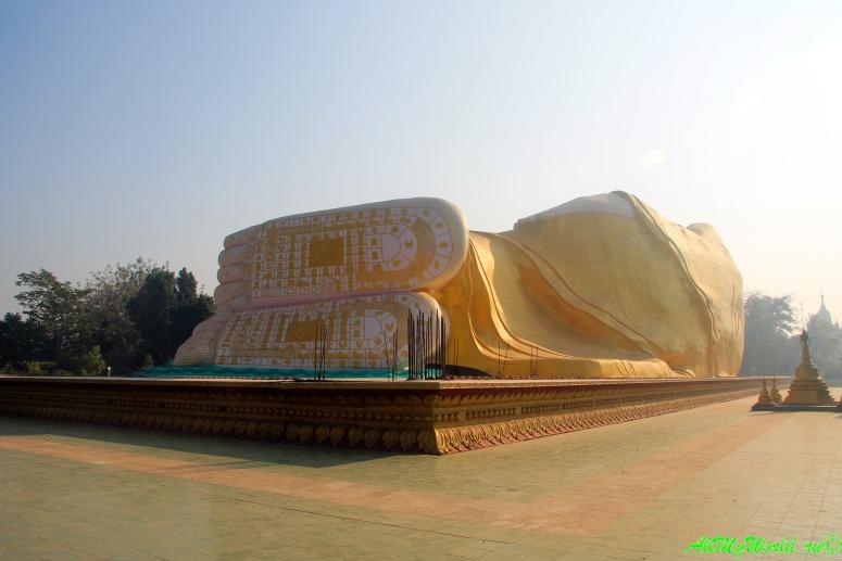 Мьянма город Баго Лежащий Будда