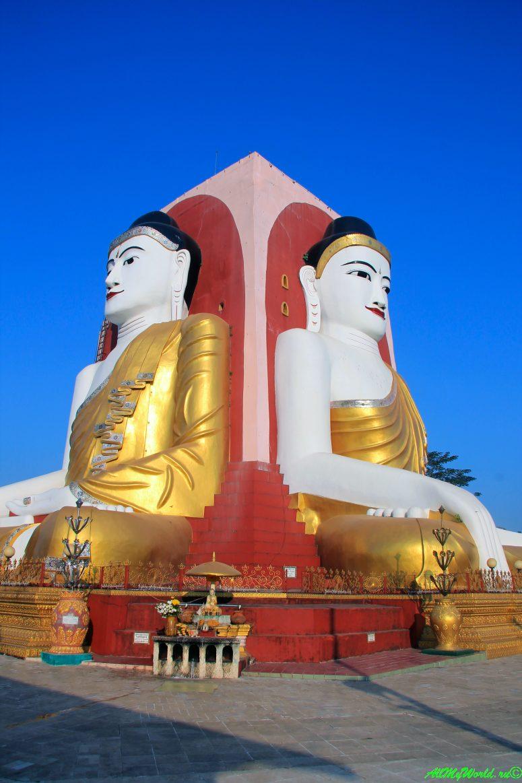 Мьянма Баго пагода Четырех Будд