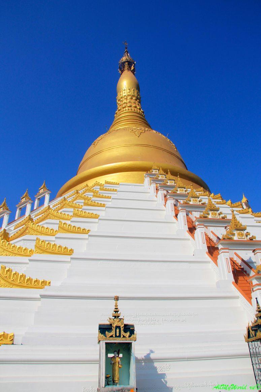 Мьянма Баго Mahazedi Pagoda