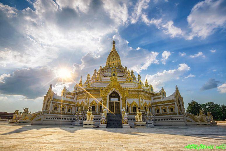 Город Янгон: достопримечательности столицы Мьянмы фото - пагода Зуба Будды