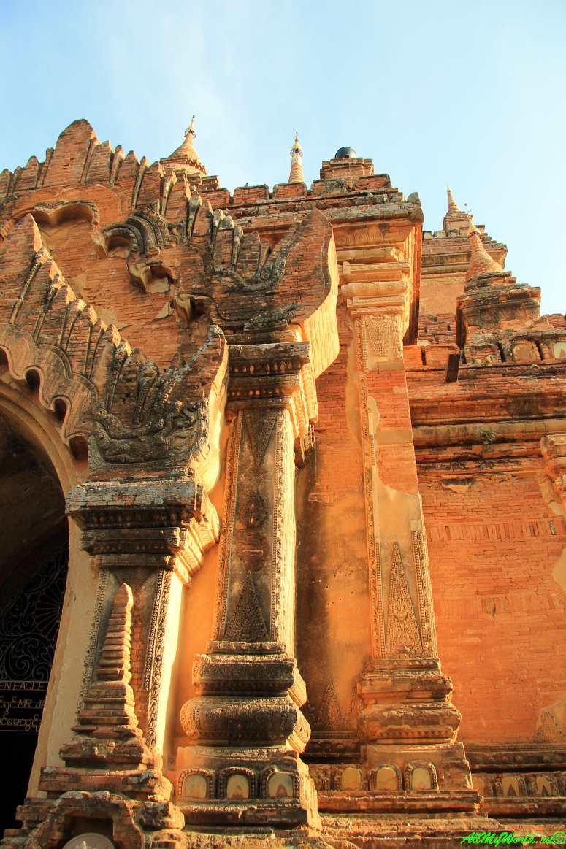 Мьянма Баган храм Htilo-Minlo фото