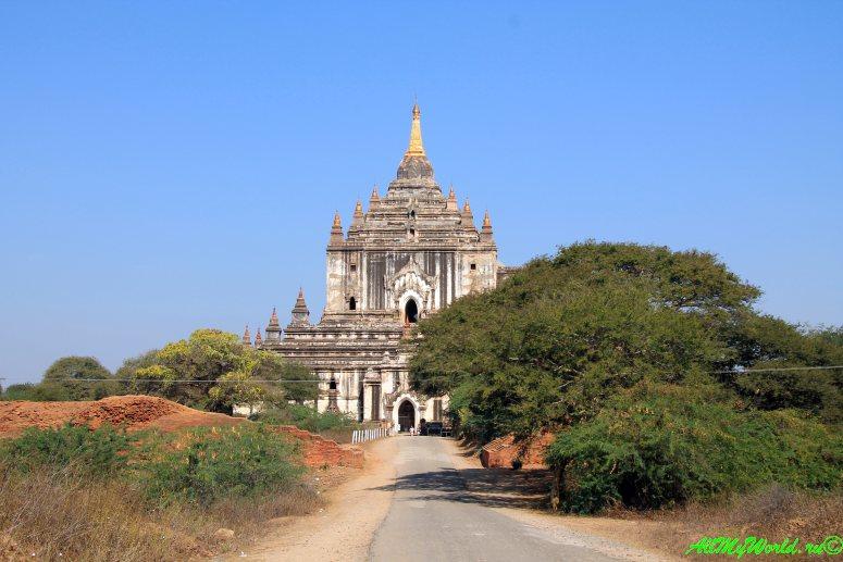Мьянма, Баган, храм Татбинью That byin hyu фото