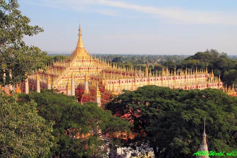 Монива (Моньва) храм Танбоддхай Thanboddhay paya фото