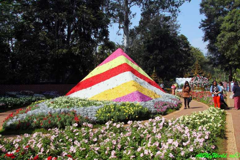 Пин-у-Львин, ботанический сад